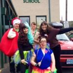 Tooth Crew: Denise Weiss, Alice Jeffers, Keri Scott, Jane Dageenakis, and the Apple (Me)!