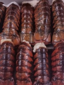 Lobster tails - perfect for your weekend celebrations