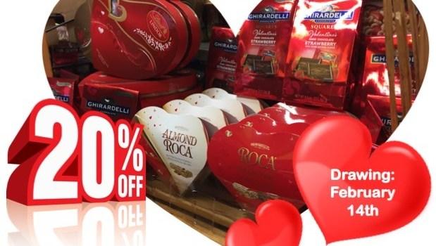 Valentine's Day is Tomorrow!