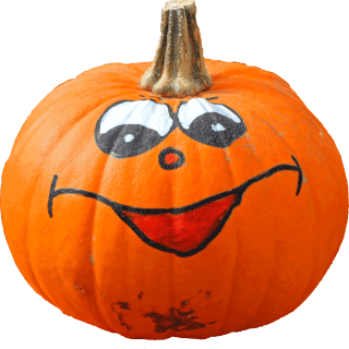 pumpkin-funny-painted-face-png-image