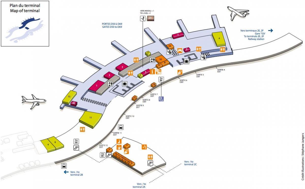 Phl Terminal Map Phl Airport Map Phl Terminal Map Phl - Phl terminal map