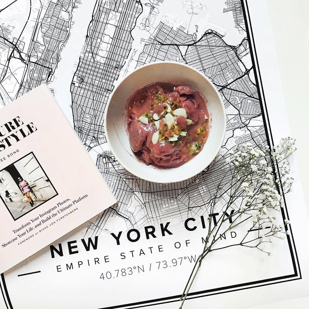 Poster Cuisine Beautiful Map Poster Of New York 18x24