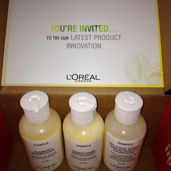 Sweet smelling samples I received from Influenster to try out!