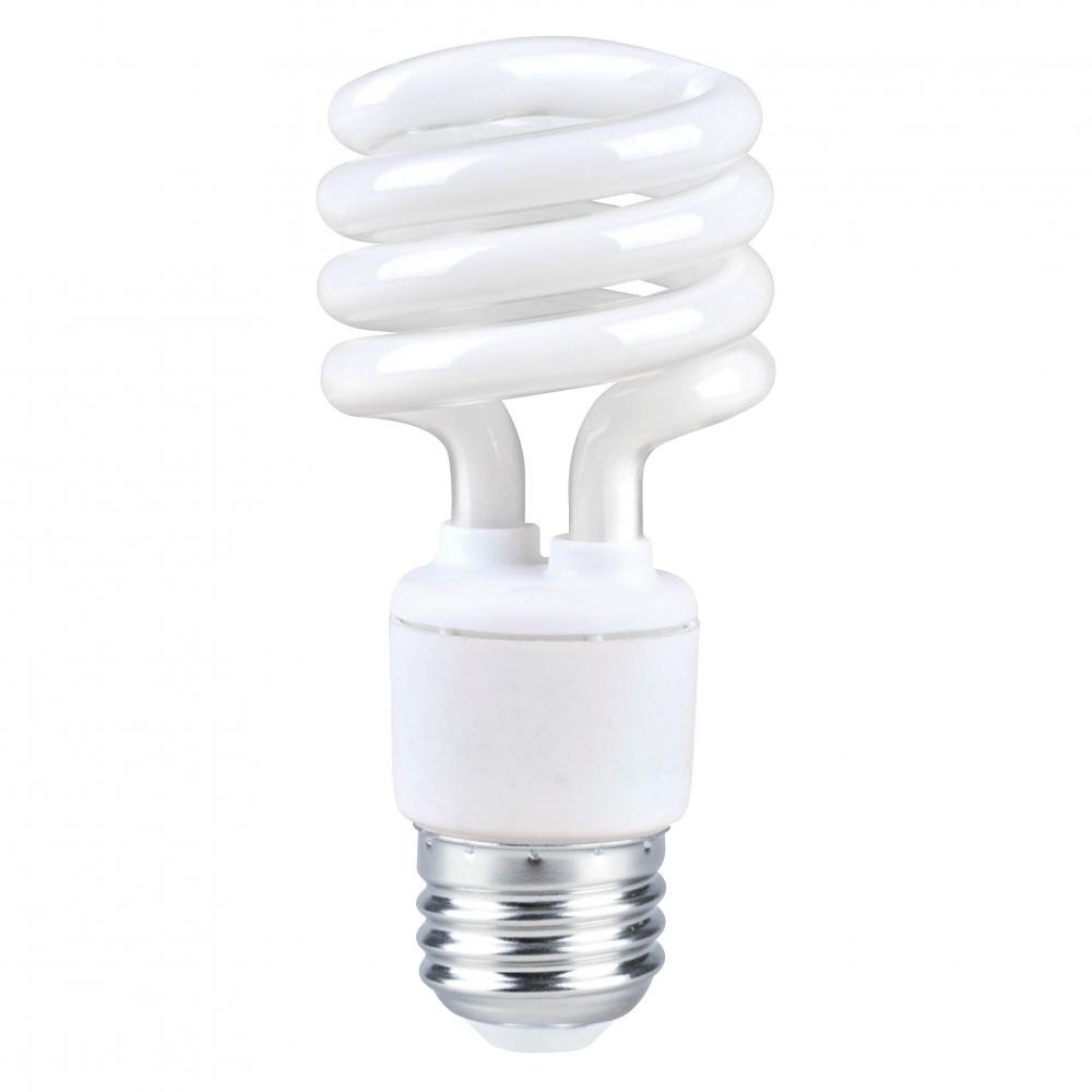 Fluorescent Lighting Compact Fluorescent Screw In Lamps T2 Spiral E26 13 20 25w