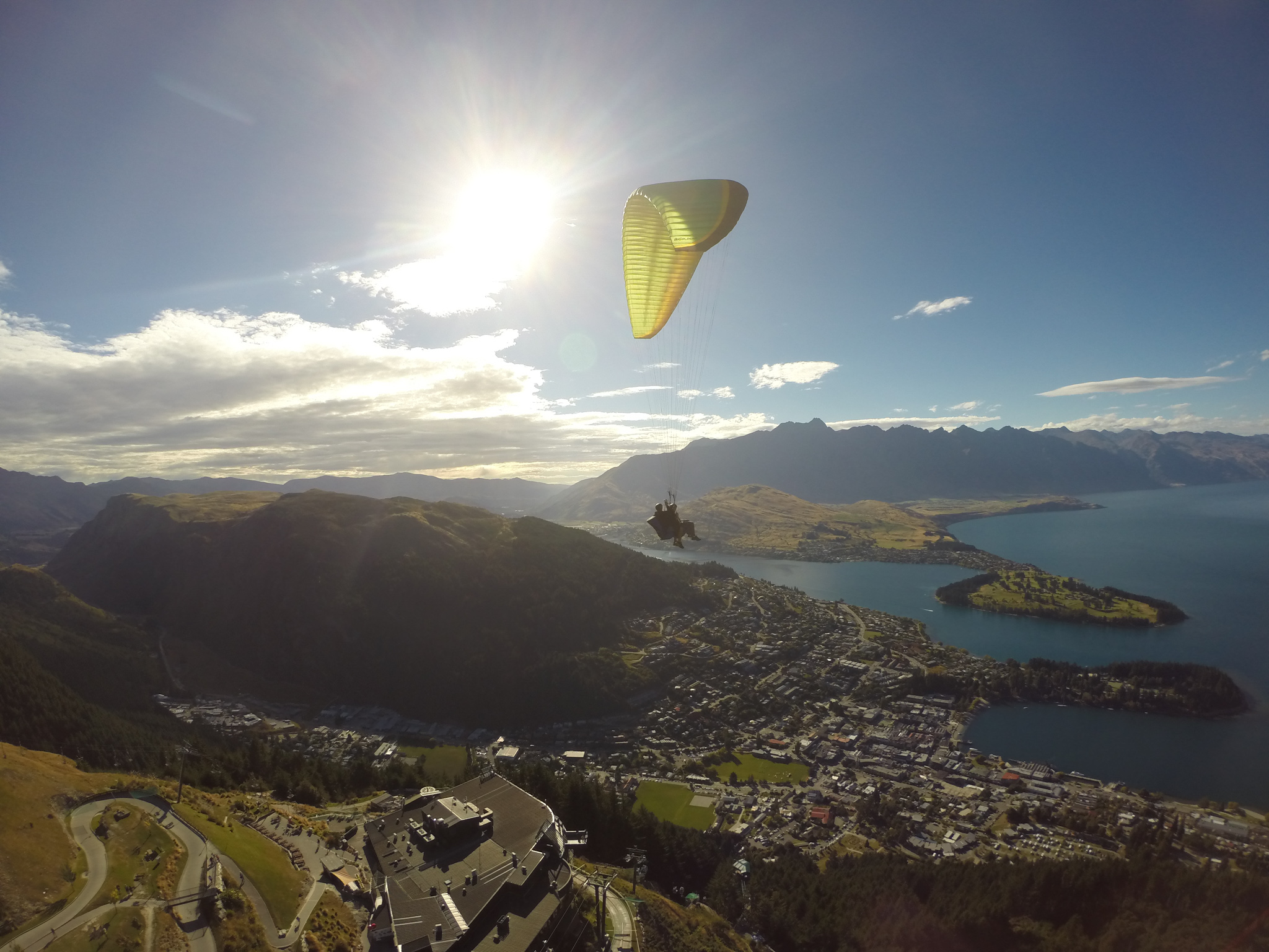 Paragliding in Queenstown with G Force Paragliding