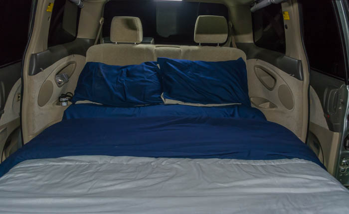 Jucy Campervan Bed