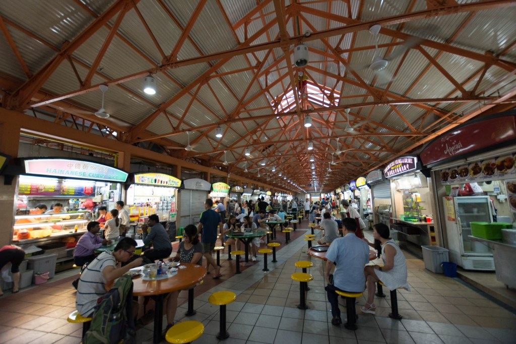 Singapore Maxwell Road Hawker Center