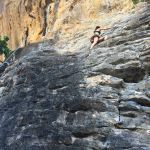 Conquering fears: Rock Climbing in Railay