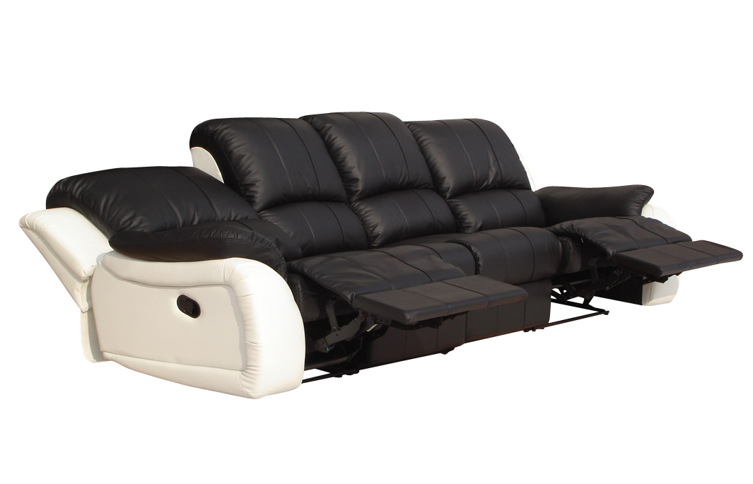 4er Couch Voll-leder 4er Couch Sofa Relaxsessel Relaxsofa