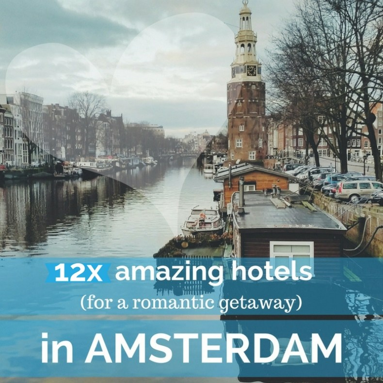 Badkamer Amsterdam Arena 12x Romantische Hotels In Amsterdam - Map Of Joy