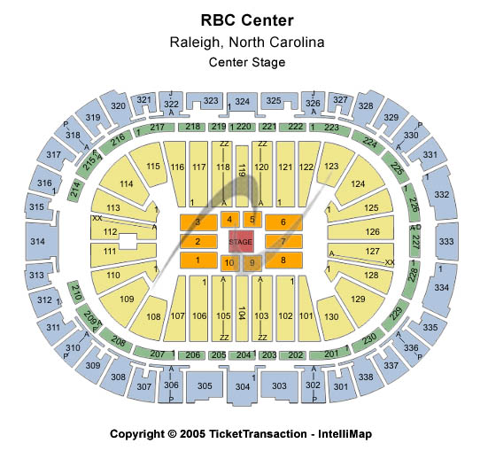 Pnc Arena Seating Chart For Concerts Two Birds Home