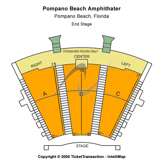 Some more info about Pompano Beach Amphitheatre Seating Chart