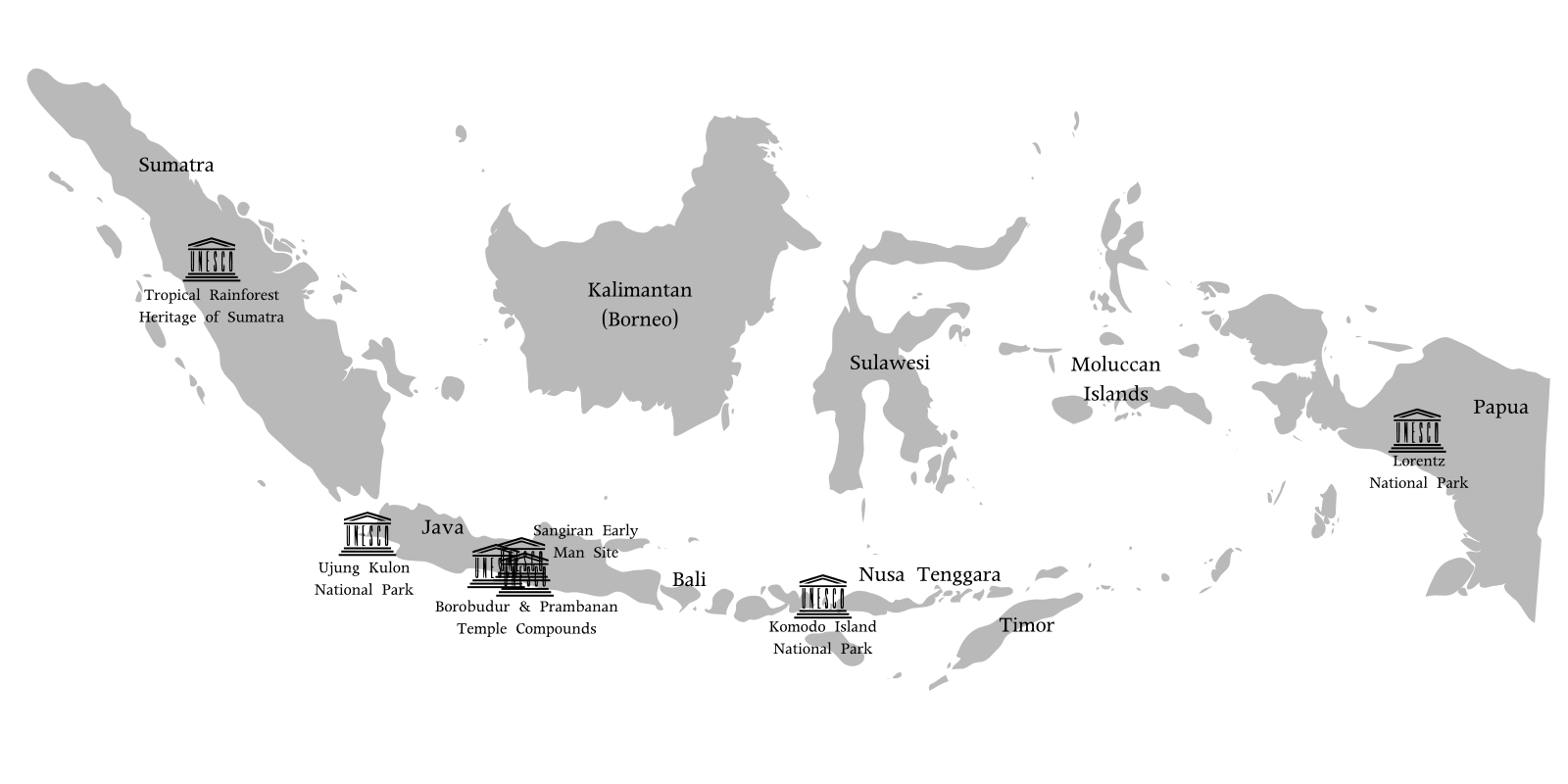 Wallpaper Seram 3d World Heritage Indonesia Mapsof Net
