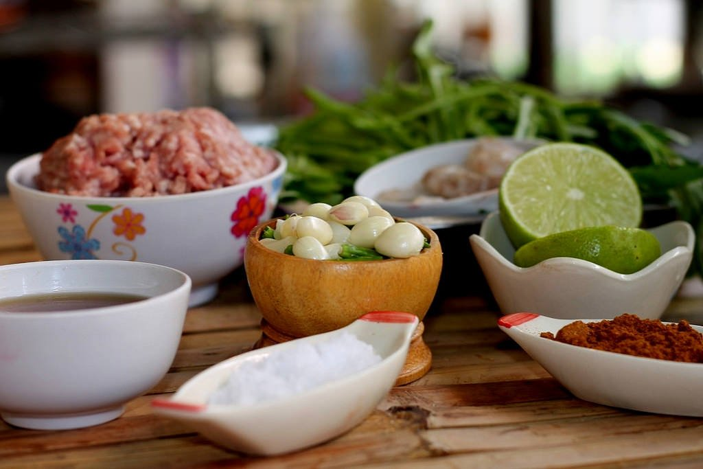 Ann's Thai cooking class_Nam Phric Ong