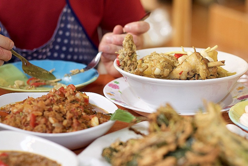Ann's cooking class - the feast