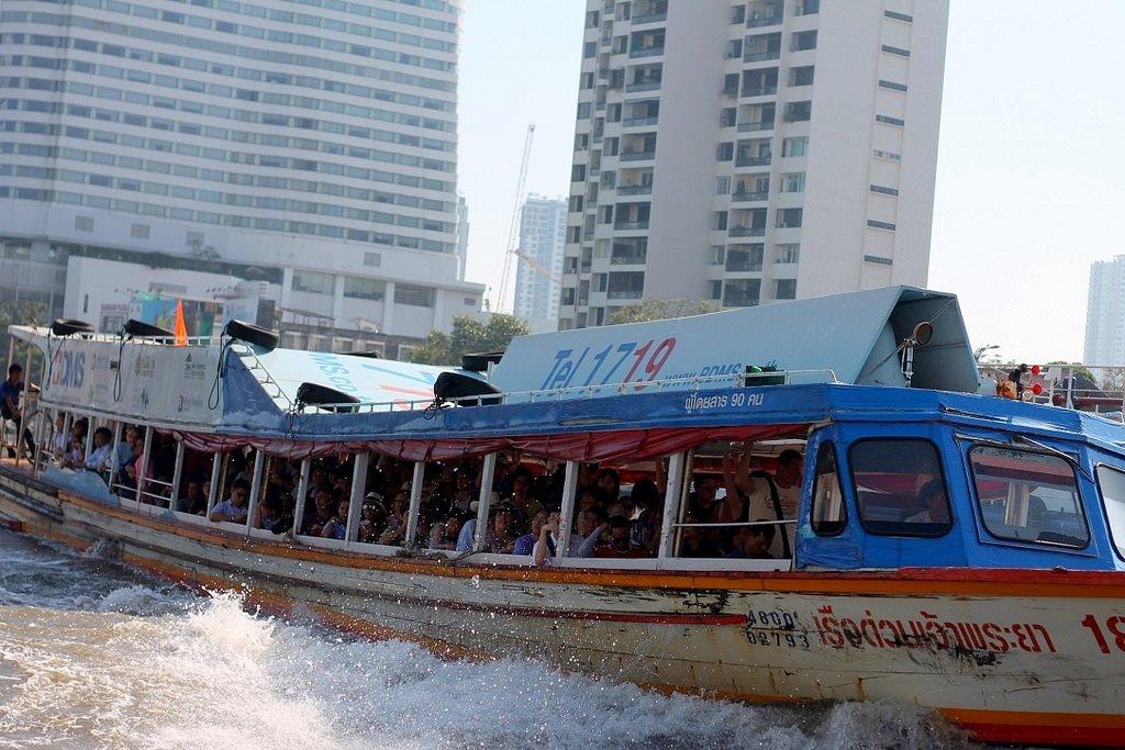 Boat taxi, Bangkok