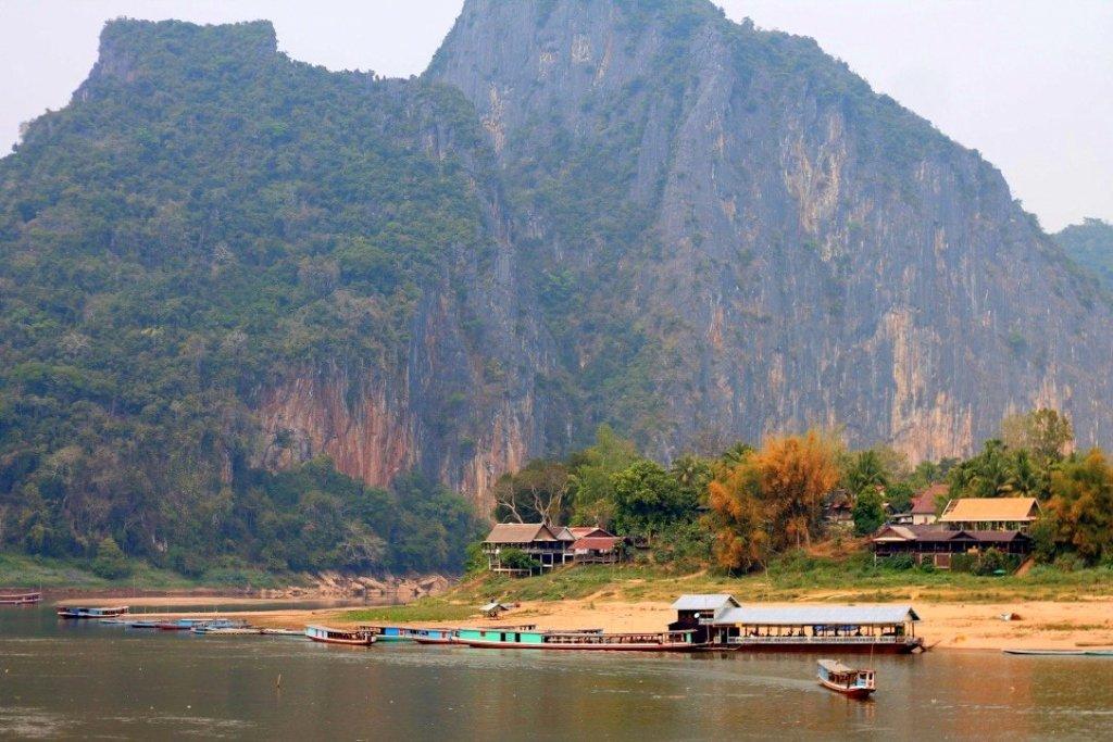 Limestone karst, Mekong River