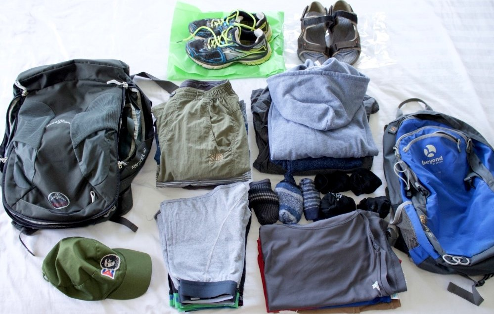 packing for travel packing list