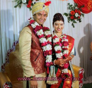 Tejaswini Pandit Bhushan Bopche marriage photos