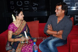Amruta Subhash marathi actress with ravi kishan