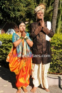 Unch Mazha Zhoka actor Vikram Gokhale wedding photos