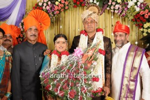 manohar joshi at vikram gokhale marriage
