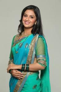 Tejashree Pradhan Zee Marathi Serial Honaar Suun Mee Hyaa Gharchi Actress