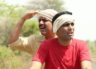 Makarand Anaspure & Sandeep Pathak - Rangaa Patangaa Marathi Movie Still Photo