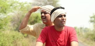 Makarand Anaspure & Sandeep Pathak - Rangaa Patangaa Marathi Movie Still Photo