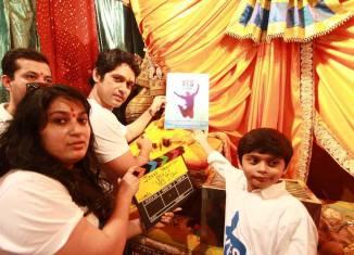 Marathi Film Yes I can Muhurt held at Mumbaicha Raja