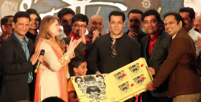 "Salman Khan released the music of ""Sanngto Aika"""