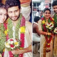 Actor Siddharth Menon got married