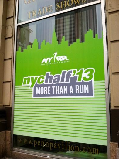 NYC Half expo 2013