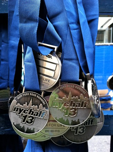 NYC Half medal 2013