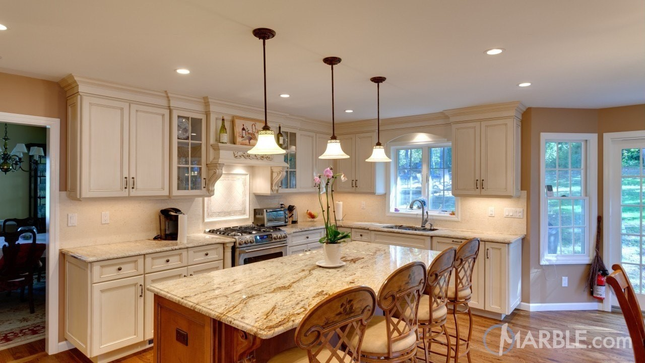 Kitchen Countertop Cabinets Top 5 Kitchen Countertop Choices For White Cabinets Marble