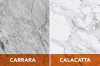 Calacatta or Carrara: How Can You Tell the Difference?