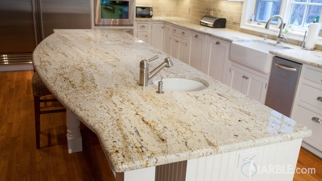 Colonial Gold Granite Kitchen Countertops Marble Com