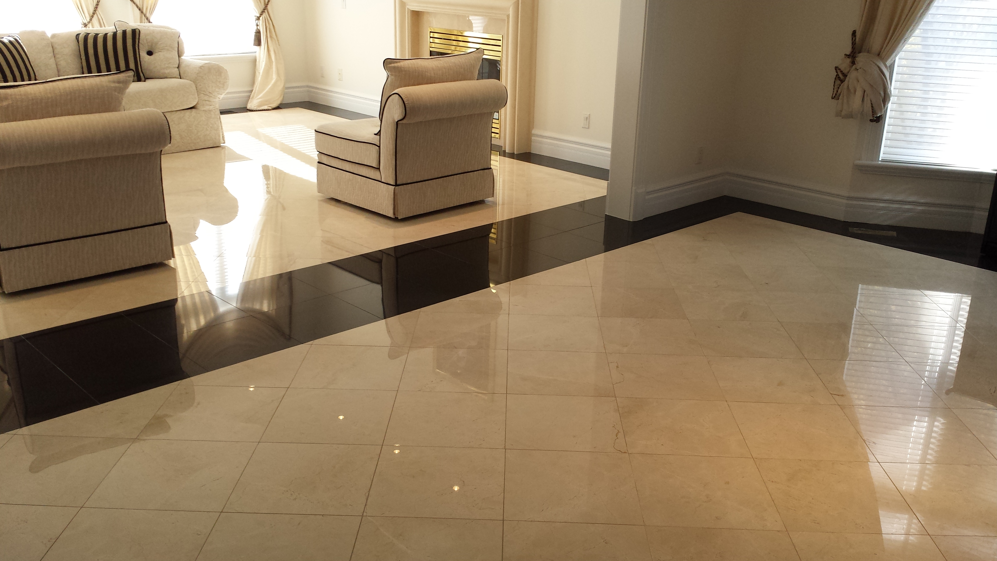 Marble Floors Living Room Marble Renewal Polished Marble And Granite Floor Restoration