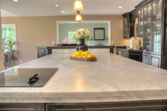 Choosing A Honed Or Polished Marble Counter