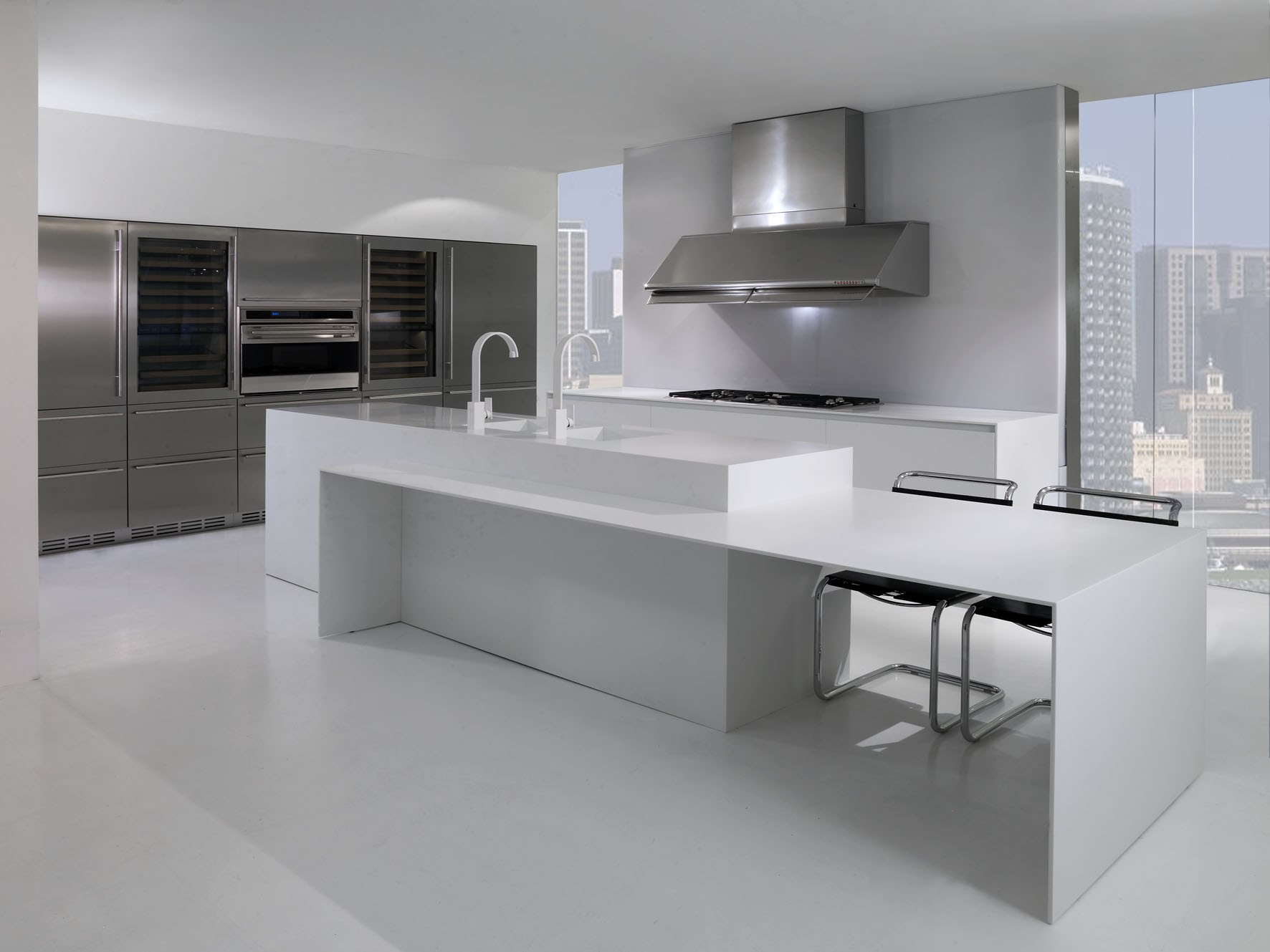 Design Kitchen Cabinets Design Modified Acrylic Solid Surface | Marbonex
