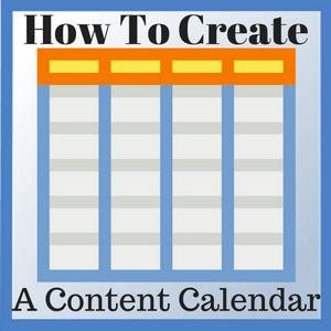 create content calendar
