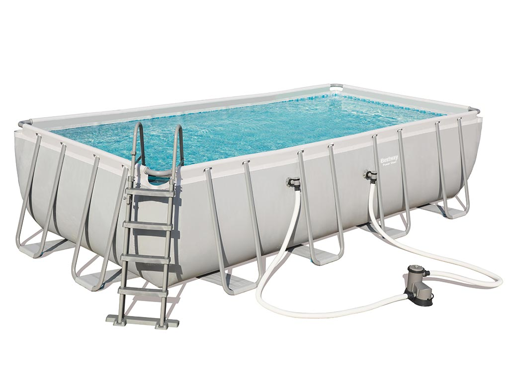 Pool Abdeckplane 549 X 274 Kit Piscine Bestway Power Steel Frame Pool 549 X 274 X