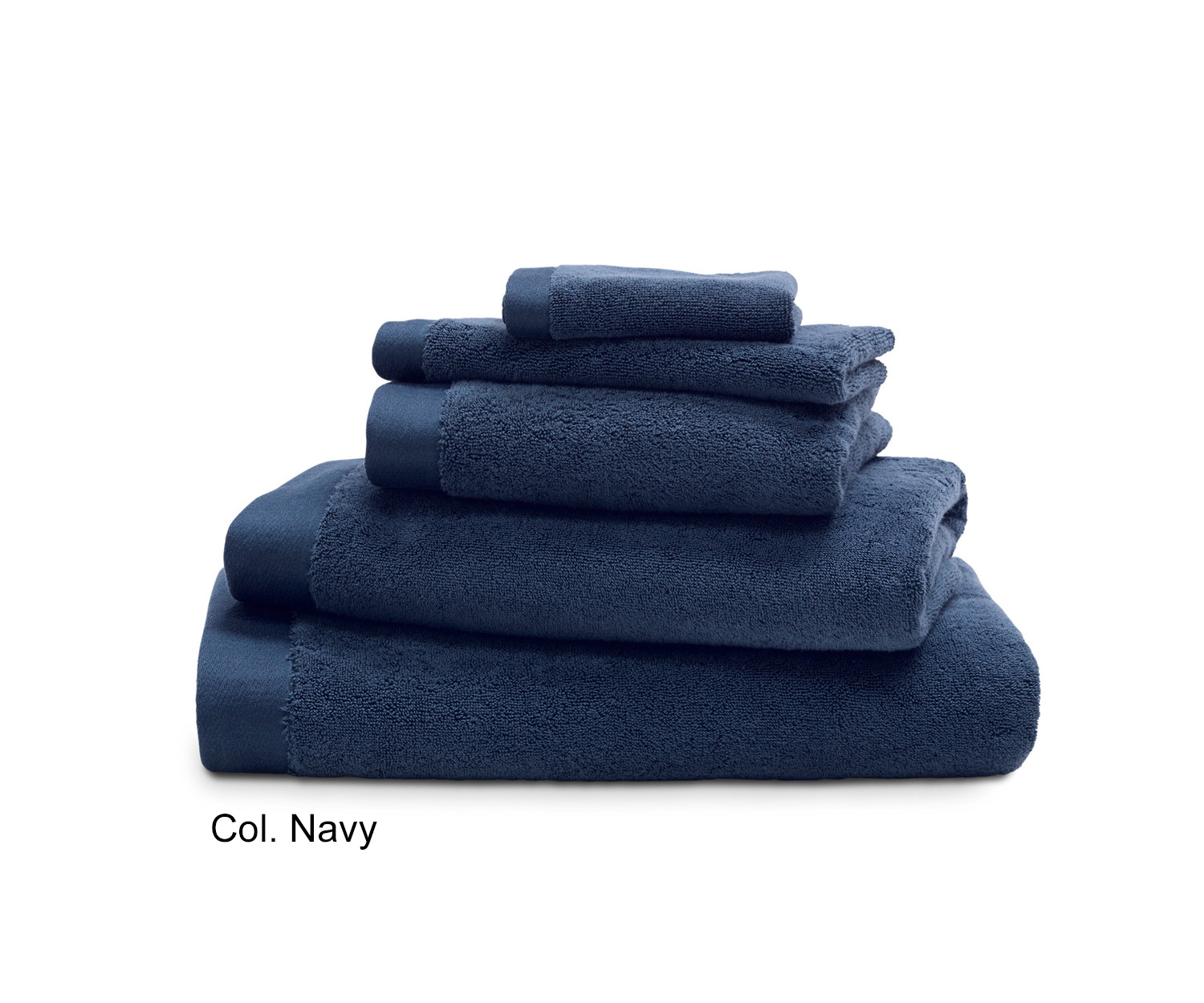 Luiz Grace Towels Col Navy Order Online Now Marc Leopold