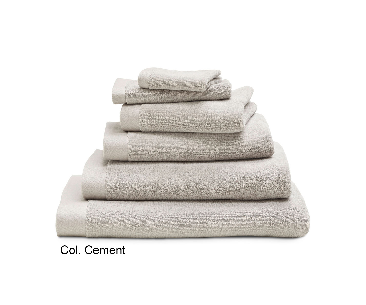 Luiz Grace Towels In Cement Order Online Now Marc Leopold