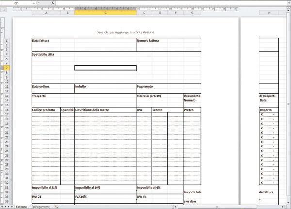 Modello Preventivo Excel Gratis Stampe With Modello Preventivo