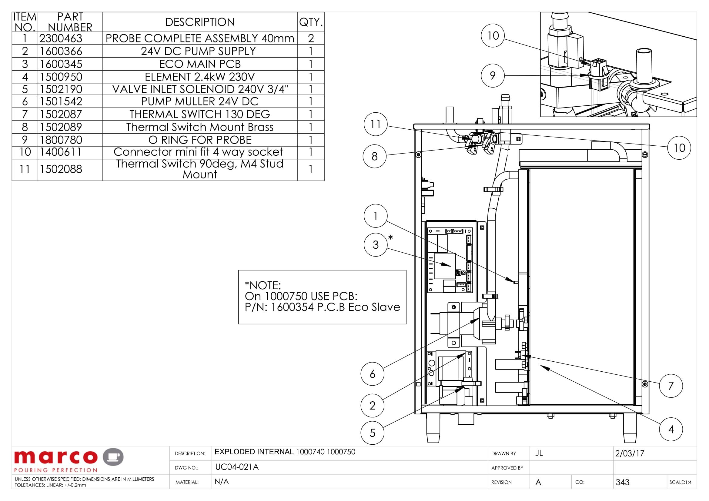 la marzocco gb5 wiring diagram