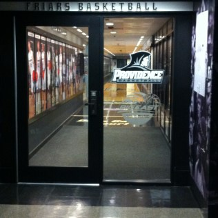 Men BBball Offices entrance