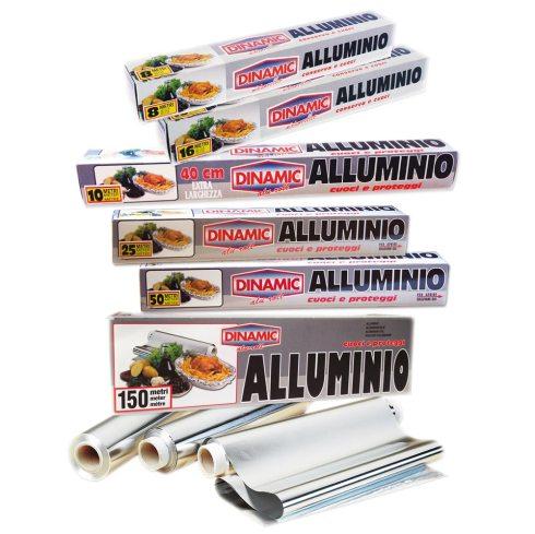 Anche il foglio in alluminio garantosce un ottima conservazione del pesce nel congelatore
