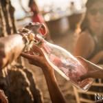 Mariage Réunion Ma Régisseuse wedding planner cérémonie laïque plage filaos bouteille voeux