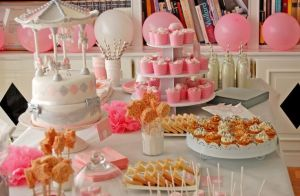 sweet table - joliebabyshower.com